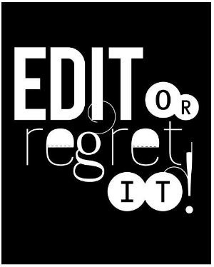 Edit Or Regret It Typographic Print. Edit Revise Rewrite Proofread Sp….pdf