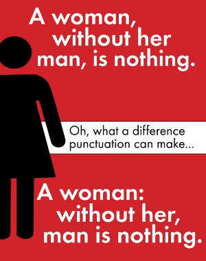 Power of Punctuation